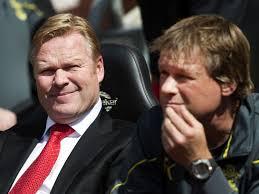 Ronald en Erwin Koeman samen naar Southampton