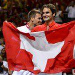 Davis Cup voor Zwitserland.