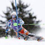 Kristoffersen verrassende winnaar bij slalom.