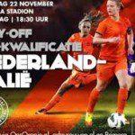 Oranjevrouwen voor laatste obstakel richting WK