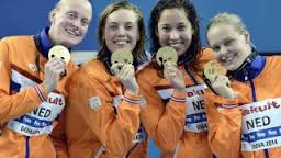 Golden Girls are back goud voor estafette