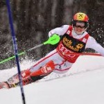 Slalom in Are prooi voor Hirscher