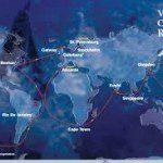 Team Brunel winnaar tweede etappe Volvo Ocean Race.