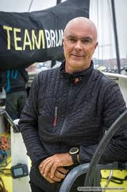 Team Brunel winnaar tweede etappe Volvo Ocean Race Bouwe bekking