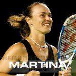 Martina Hingis wint weer een grote finale.