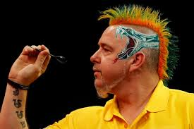 Van Gerwen premier league Peter Wright