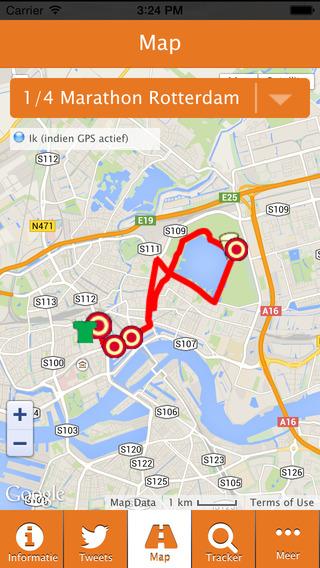 NN Marathon Rotterdam iTunes