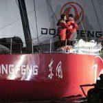 Team Brunel weer op podium bij Volvo Ocean.