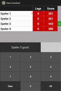 Darts Scoreboard Android