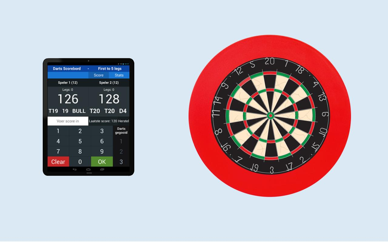 Darts Scoreboard op je iPhone