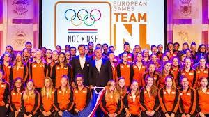Europese spelen Nederlandse ploeg