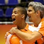 Oranje volleyballers naar EK