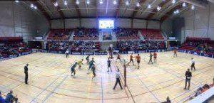 Oranje volleyballers naar EK afbeelding hal Doetinchem