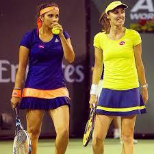 Roland Garros 04 Hingis en Mirza