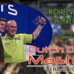 Van Gerwen wint dartstoernooi in Venray.