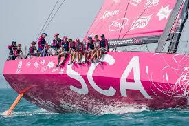 Volvo Ocean winst vrouwenboot