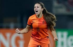 WK voetbal vrouwen 02  Lieke Martens heeft gescoord