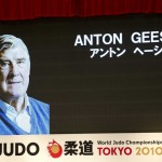 Anton Geesink in Japan nog altijd een legende.