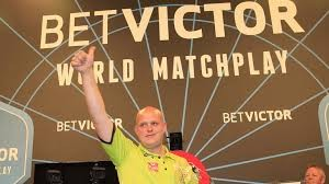 Darts World Matchplay van gerwen