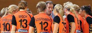 Handbalvrouwen naar WK Henk Groener