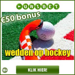 Wedden op Hockey met Unibet