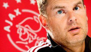 Ajax uitgeschakeld in voorronde Champions League Frank de Boer