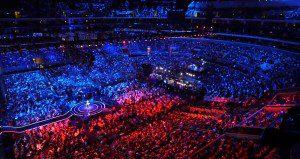 E-sport steeds populairder plaatje volle arena's