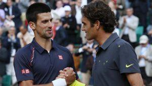 Federer wint van Djokovic bij WTA in Cincinnati felicitaties