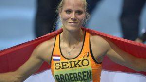 WK atletiek 2015 04 Nadine Broersen net geen medaille plaatje