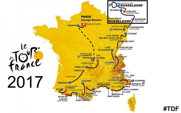 De tour de France van 2017