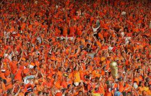 Oranje Hoe goed zijn 'we' nog plaatje fans