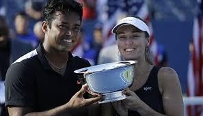 Tennis US Open 2015 Hingis en Paes