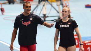 WK Atletiek 2015 05 Ashton Eaton en vrouw