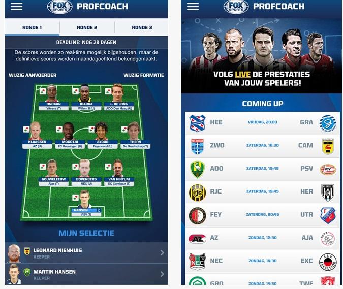 De app van profcoach.nl