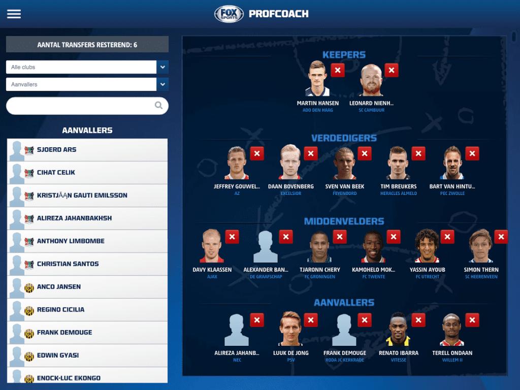 Profcoach.nl app