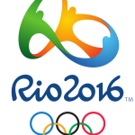 Olympische zeilers oefenen in Rio.