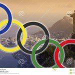 Olympische zeilers bereiden zich voor op de Spelen.