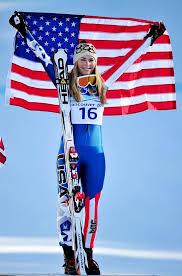 Skien Lindsey Vonn recordjacht plaatje