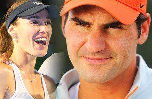 Tennis Australian Open 2016 01 Federer Hingis