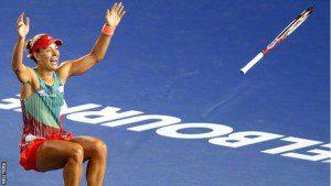 Tennis Australian Open 2016 Kerber wint 02