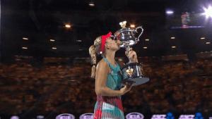 Tennis Australian Open 2016 Kerber wint