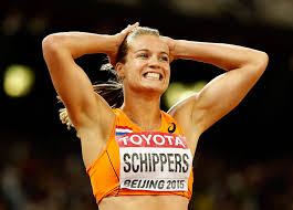 Atletiek Schippers Cooman evenaart 30 jaar oude record Schippers