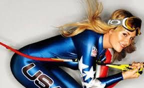 Skien Seizoen over en uit voor Lindsey Vonn logo