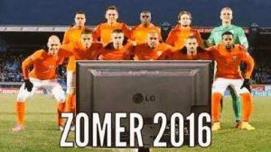 Voetbal Oranje 2016 oefenen Oranje niet naar frankrijk