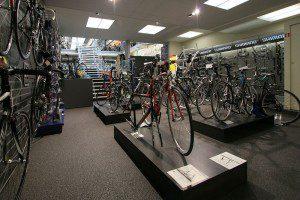 Wielrennen plaatje fietswinkel