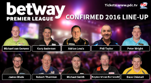 Darts Premier League 2016 10 01