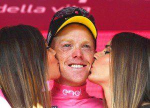 Wielrennen Giro 2016 04 Kruijswijk in het roze 01