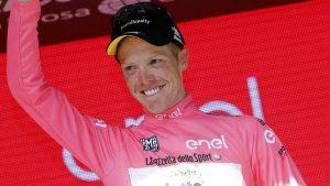 Wielrennen Giro 2016 04 Kruijswijk in het roze 02
