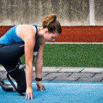 EK atletiek in Amsterdam met paralympische sporters.