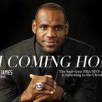 King of Cleveland op vaderdag.